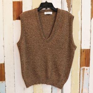 Jantzen Brown Sweater Vest